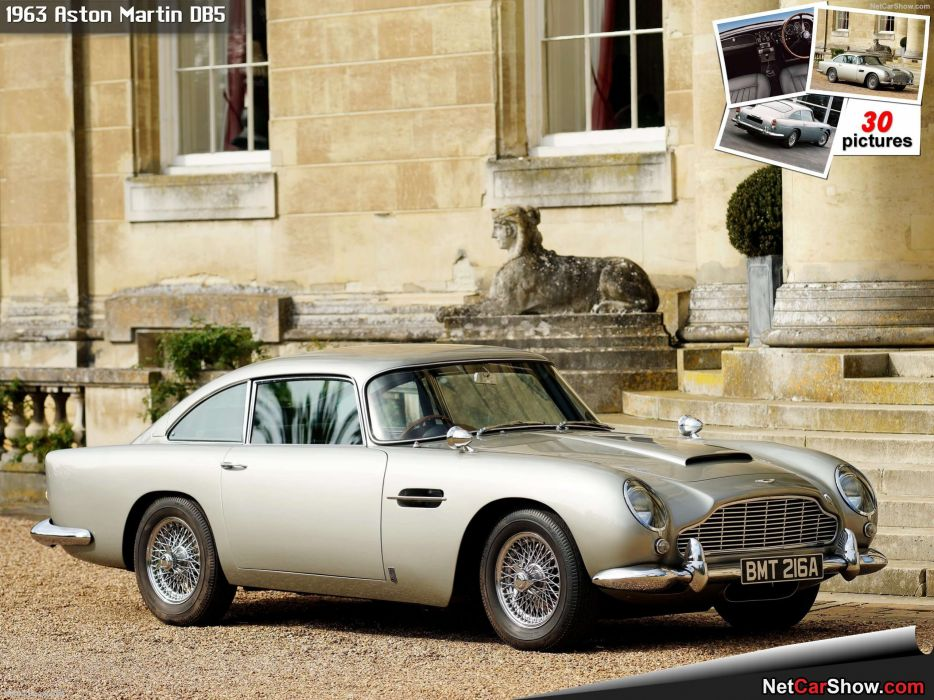 Aston Martin DB5 1963 wallpaper