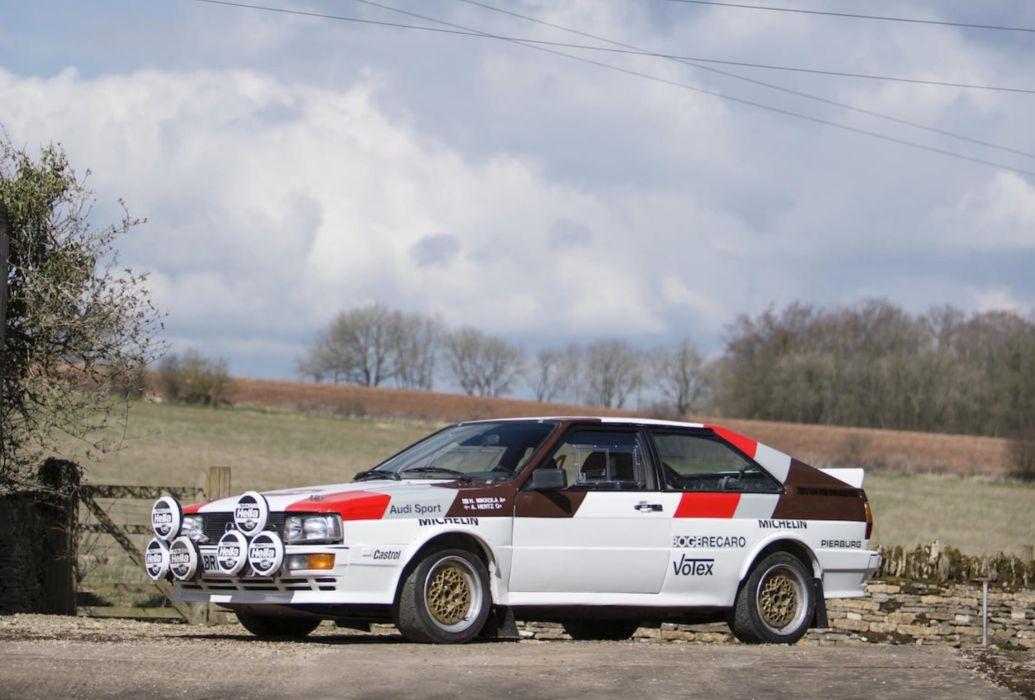 Audi Quattro 1981 wallpaper