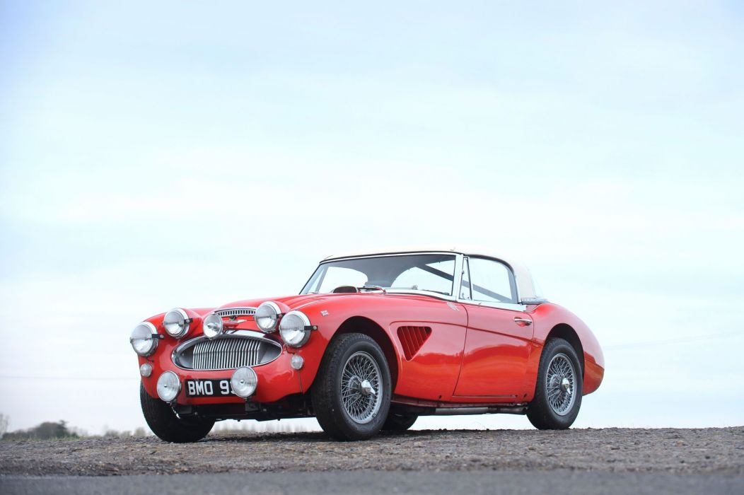 Austin-Healey 3000 Works Rally Car 1964 wallpaper