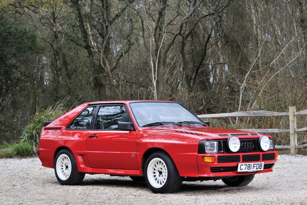 Audi Sport Quattro 1986 wallpaper