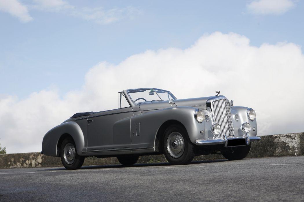 Bentley Mark VI Drophead Coupe 1949 wallpaper