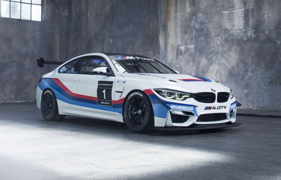 BMW M4 GT4 2017 wallpaper