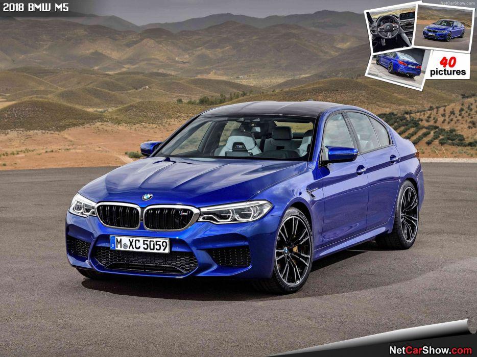 BMW M5 2018 wallpaper