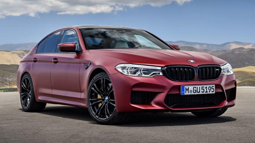 BMW M5 First Edition 2018 wallpaper