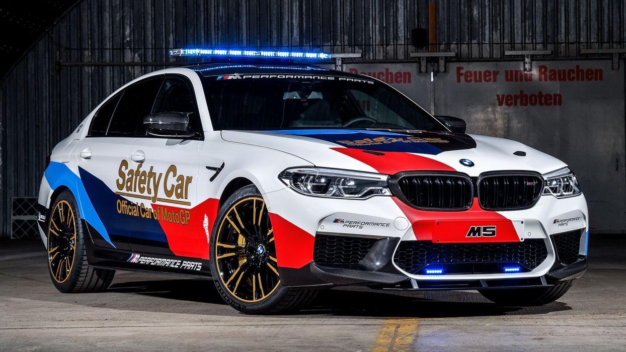 BMW M5 MotoGP Safety Car 2018 wallpaper