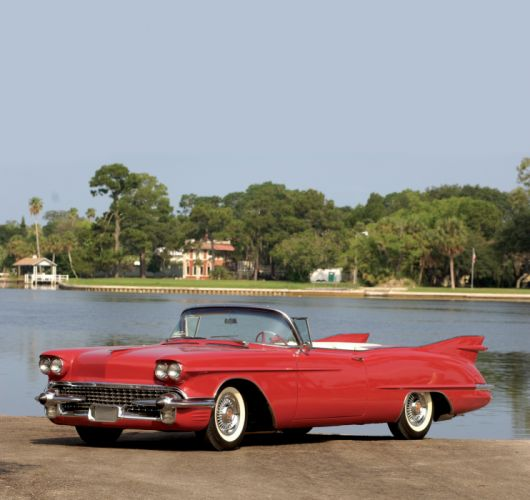 Cadillac Eldorado Biarritz The Raindrop Dream Car Prototype 1958 wallpaper