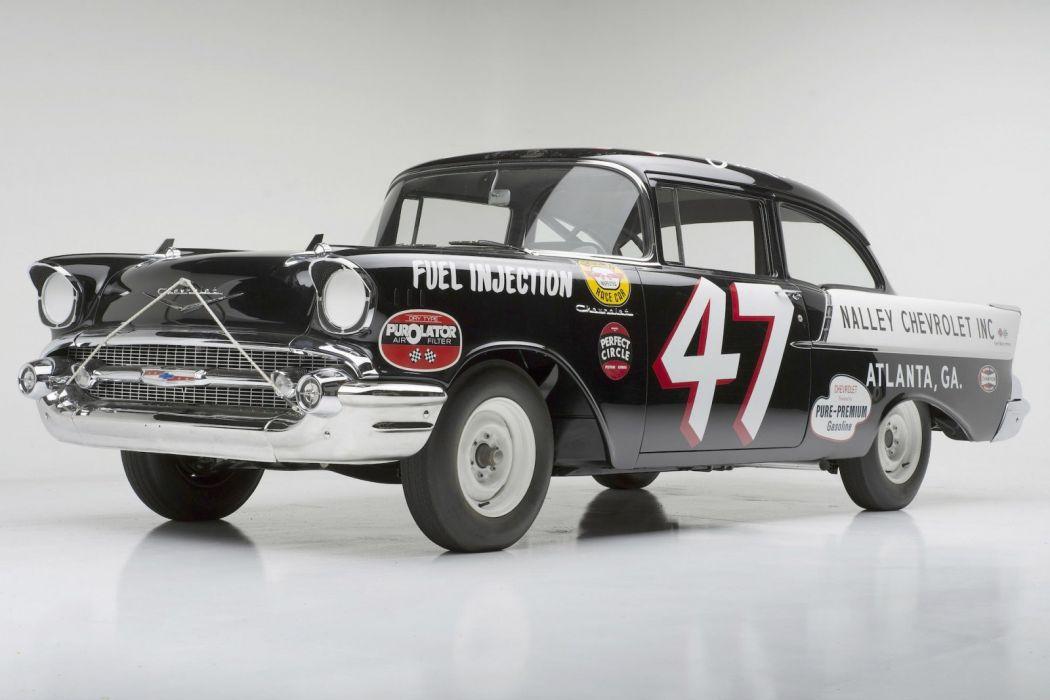 Chevrolet Black Widow Racer 1957 wallpaper