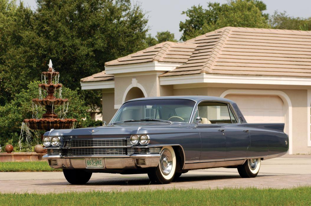 Cadillac Fleetwood Sixty Special 1963 wallpaper