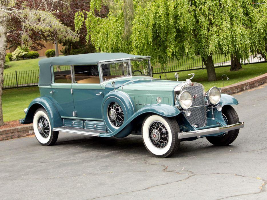 Cadillac V16 All-Weather Phaeton 1930 wallpaper