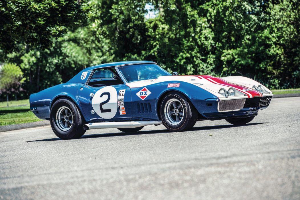 Chevrolet Corvette L88 Sunray DX Race Car 1968 wallpaper