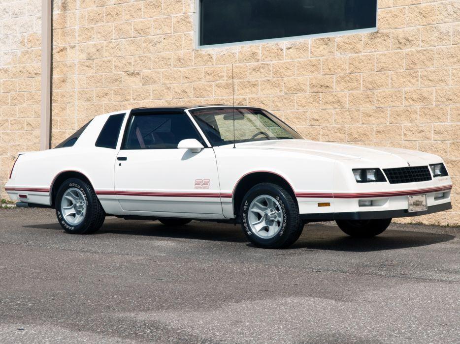 Chevrolet Monte Carlo SS Aerocoupe 1986 wallpaper