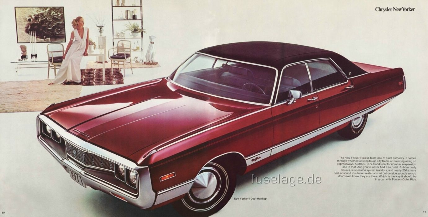 Chrysler New Yorker Hardtop 1971 wallpaper