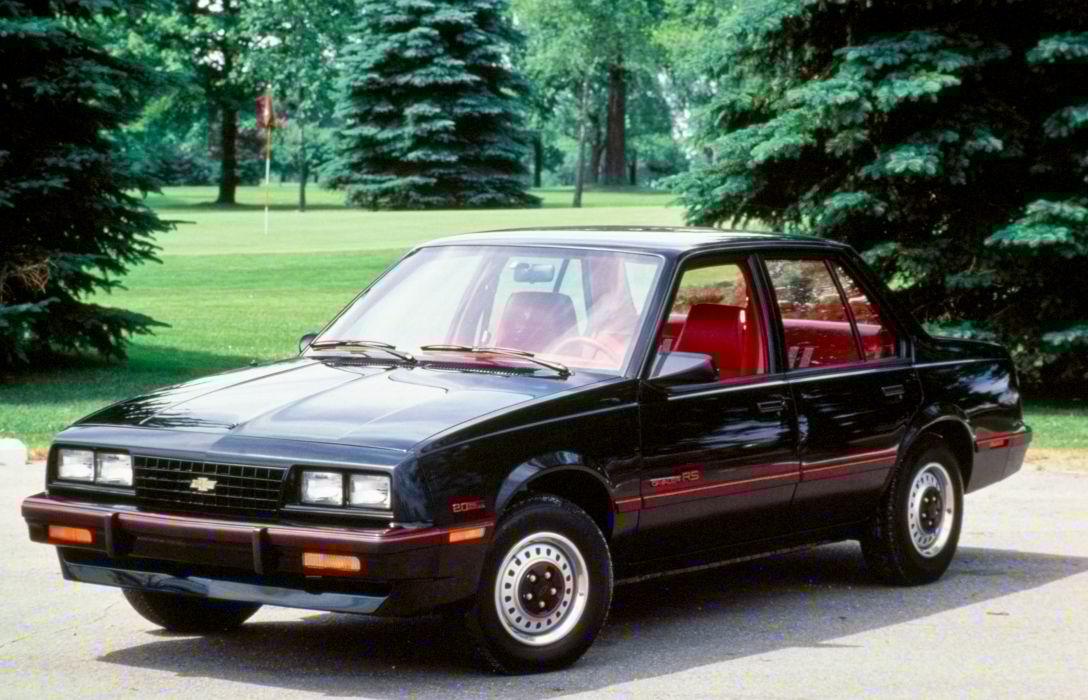 Chevrolet Cavalier RS Sedan 1986 wallpaper