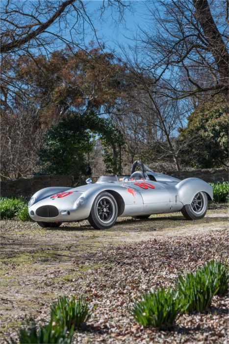 Cooper-Climax T39 Bobtail Racer 1956 wallpaper