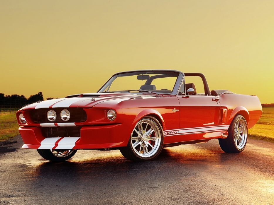 Classic Recreations Shelby GT500CR Convertible 2012 wallpaper