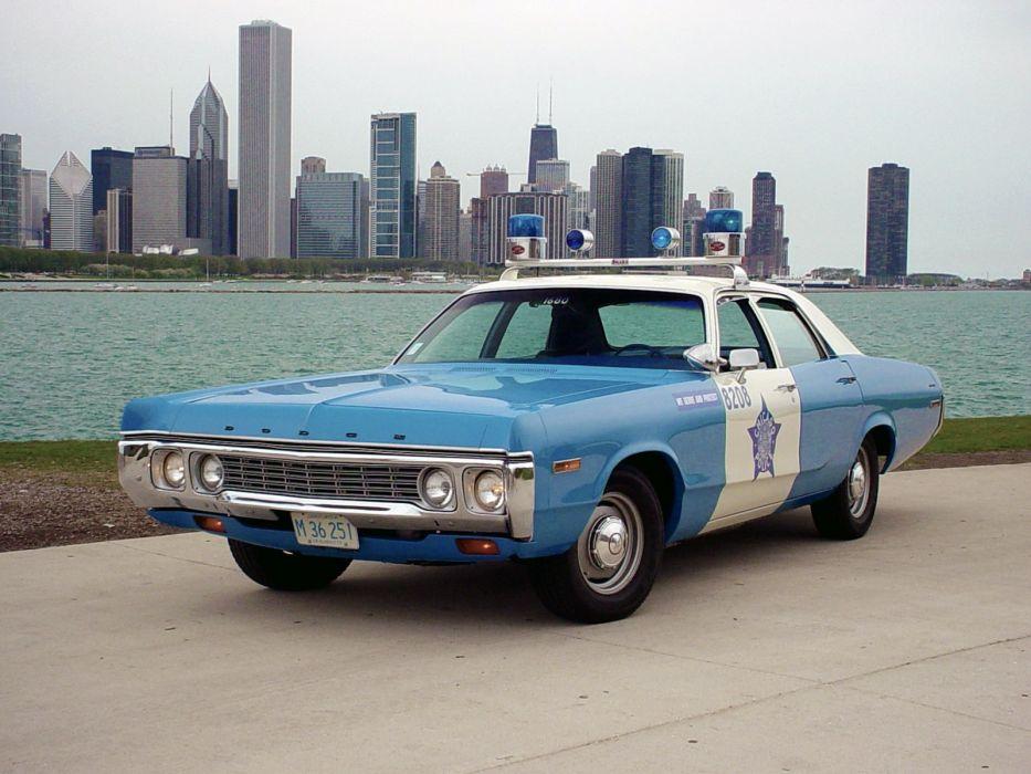 Dodge Polara Squad Car 1972 wallpaper