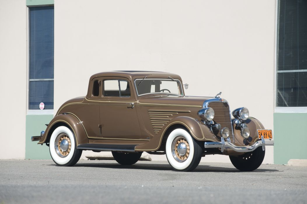 Dodge Deluxe Rumble Seat Coupe 1934 wallpaper