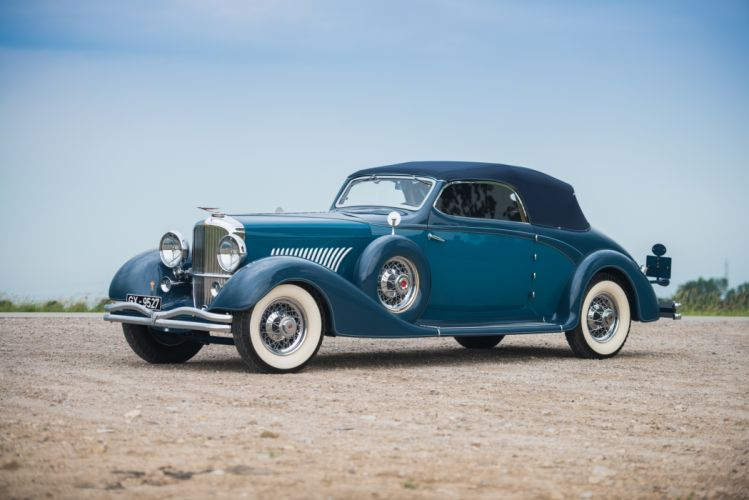Duesenberg J 519-2548 Convertible Coupe LWB 1935 wallpaper