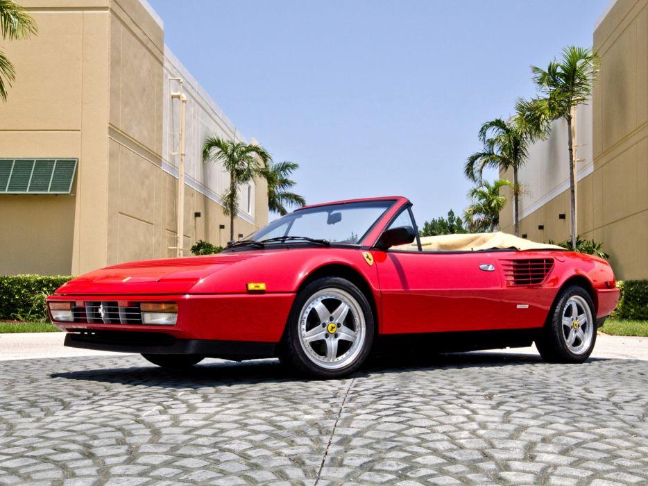 Ferrari 3 2 Mondial Cabriolet 1985 wallpaper