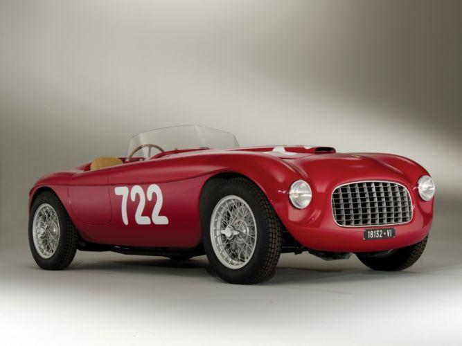 Ferrari 166 Fontana Spyder Corsa 1948 wallpaper