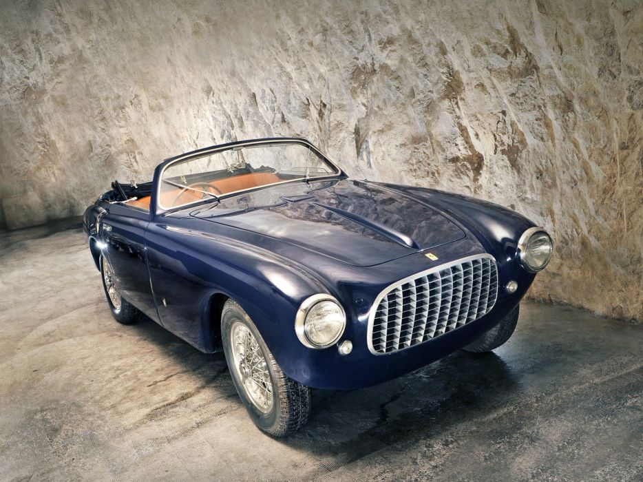 Ferrari 166 Inter Cabriolet 1950 wallpaper