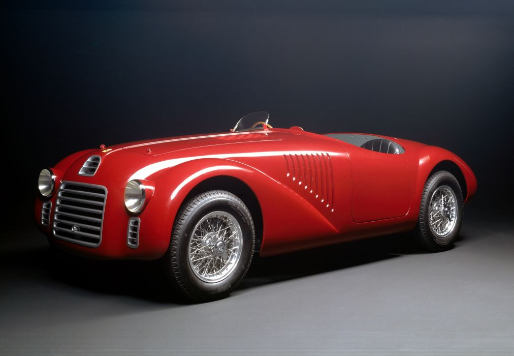 Ferrari 125 Sport 1947 wallpaper