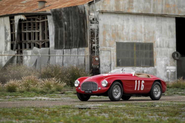 Ferrari 166 MM Barchetta 1950 wallpaper