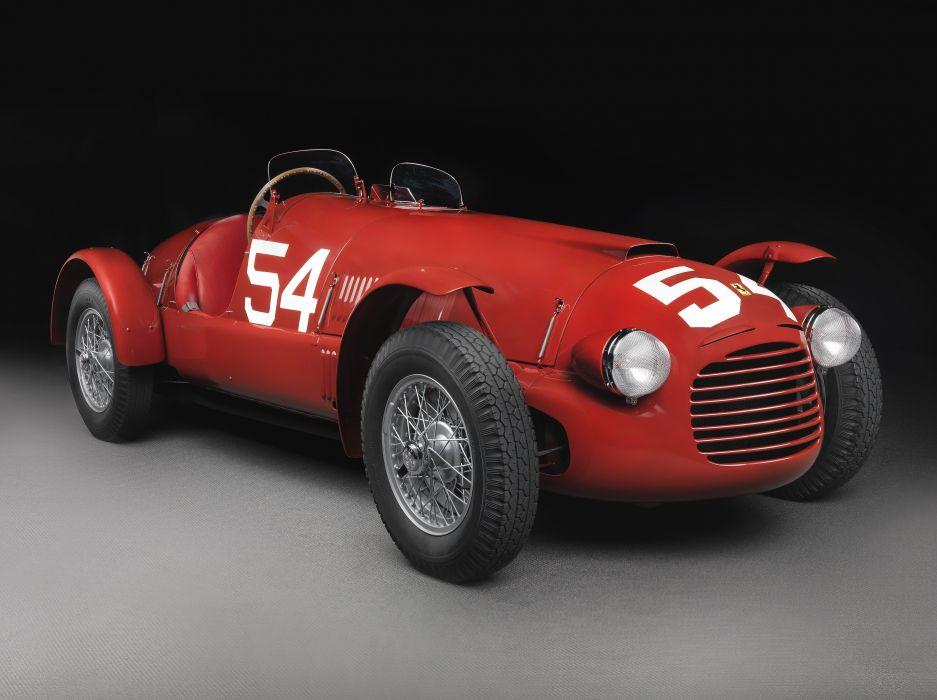 Ferrari 166 Spyder Corsa 1947 wallpaper