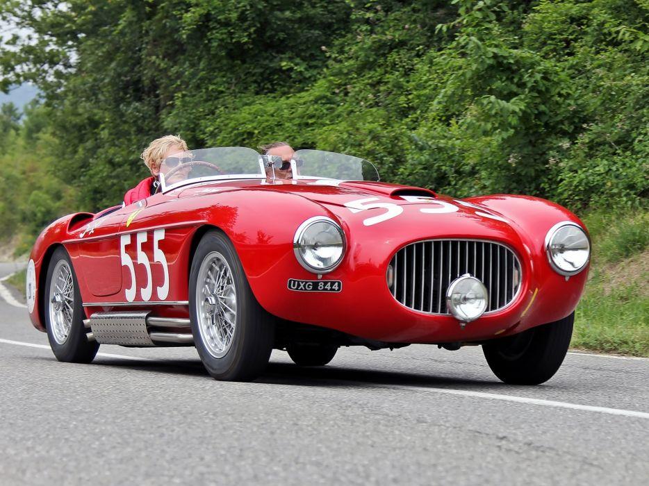 Ferrari 212 Export Autodromo Burrano Spyder 1951 wallpaper
