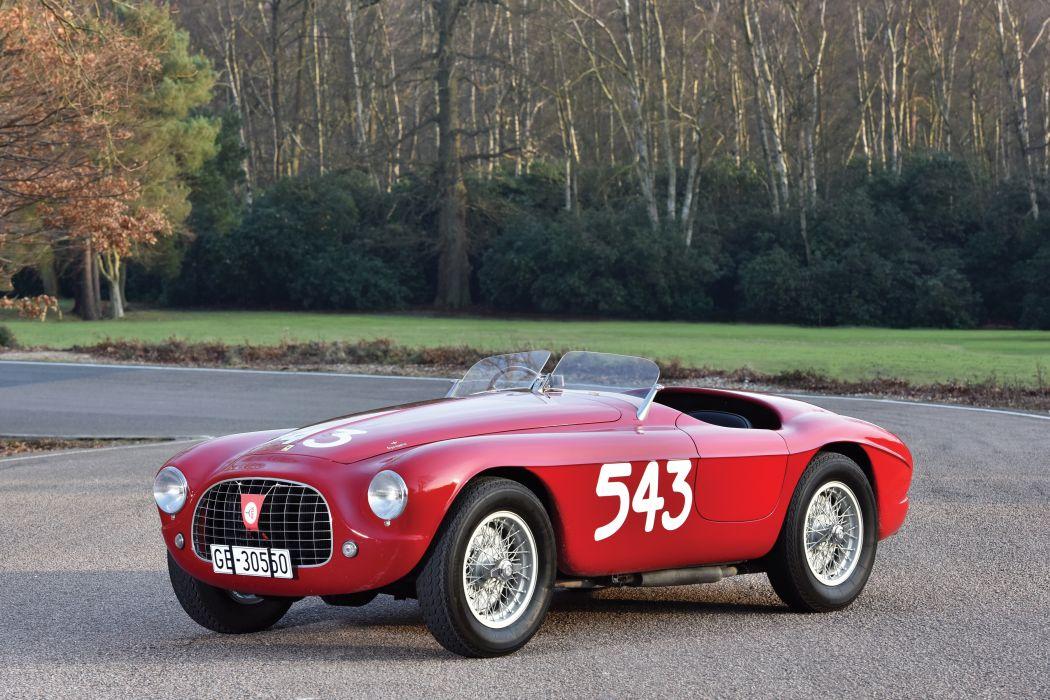 Ferrari 212 Export Barchetta 1951 wallpaper