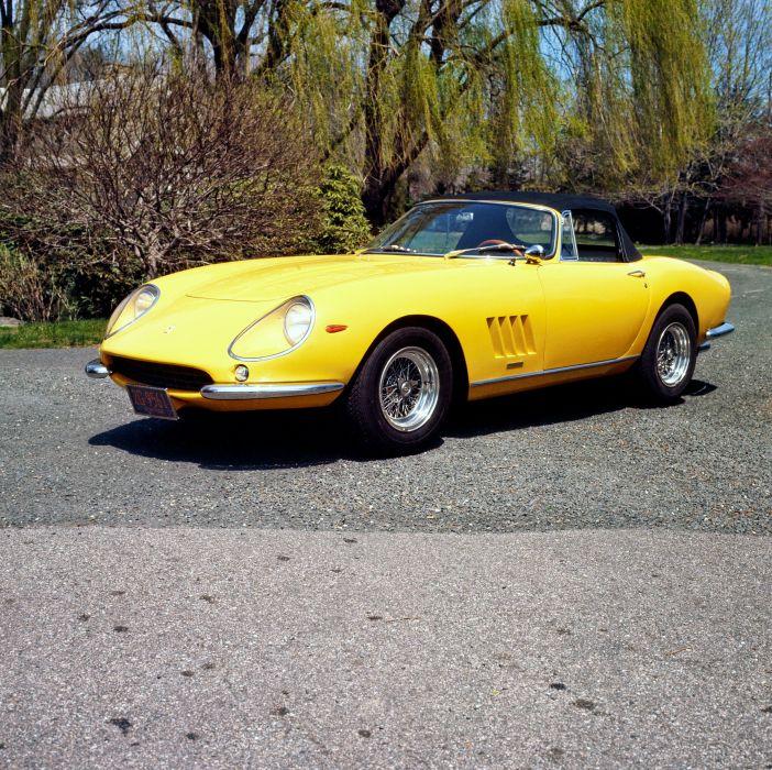 Ferrari 275 GTB-4S NART Alloy Spyder 1967 wallpaper