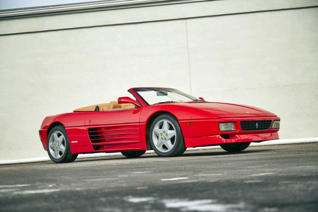 Ferrari 348 Spyder 1993 wallpaper