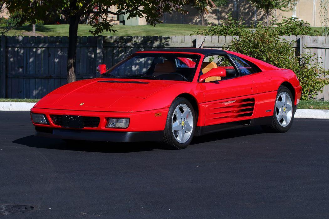 Ferrari 348 ts 1989 wallpaper