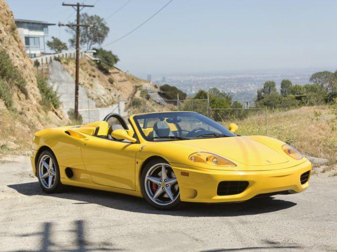 Ferrari 360 Spyder 2000 wallpaper