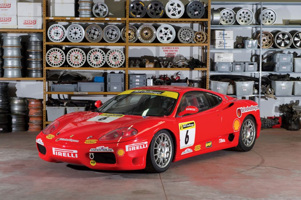 Ferrari 360 Challenge 2003 wallpaper