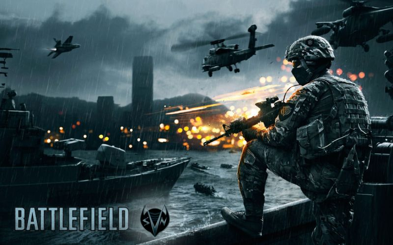 BATTLEFIELD action fighting futuristic military sci-fi shooter soldier war warrior fps wallpaper