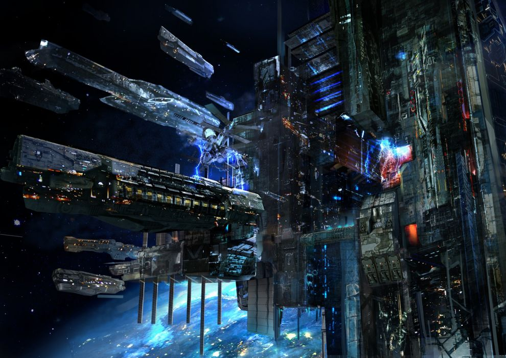 fantasy Concept Art artstation jakeMoon space wallpaper