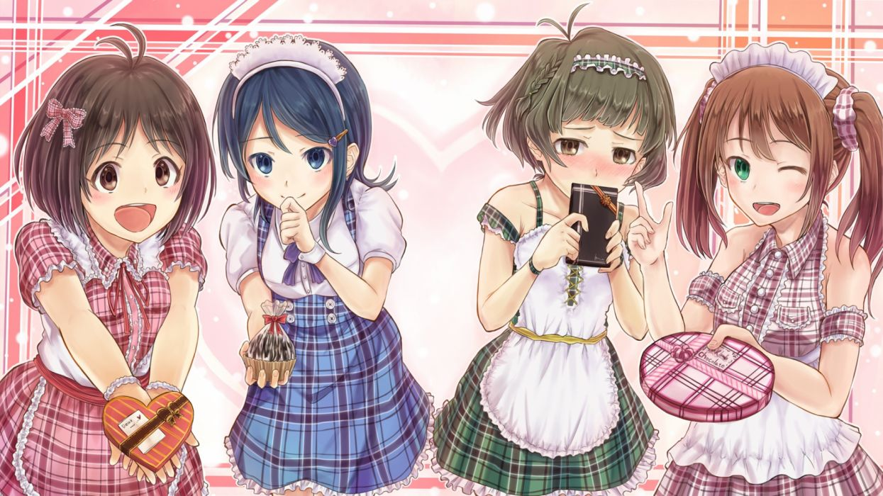 Konachan com - 236383 akizuki ryou arigato group hidaka ai idolmaster idolmaster side-m male mizushima saki mizutani eri tagme the idolmaster dearly stars trap valentine wallpaper