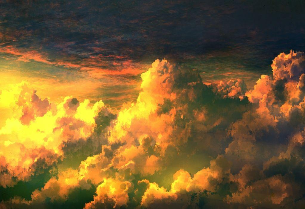 Konachan com - 236650 clouds mks nobody original polychromatic scenic sky wallpaper