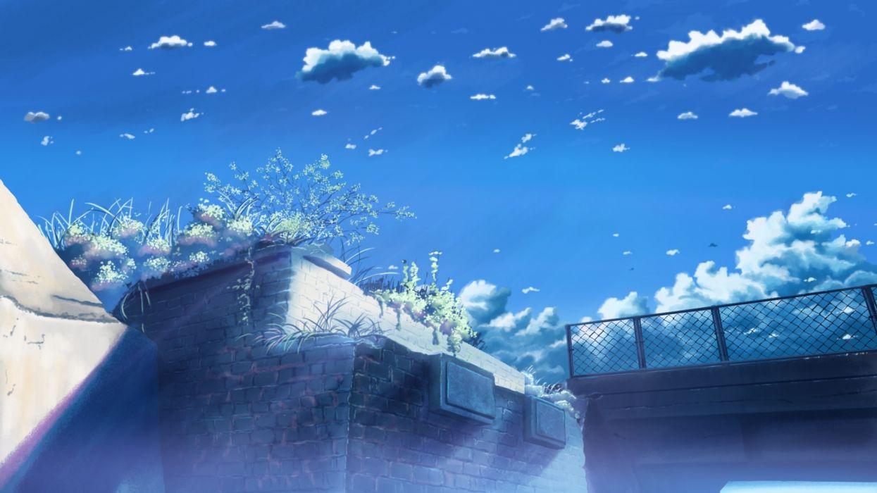 Konachan com - 236674 clouds grass hati 98 nobody original scenic sky wallpaper