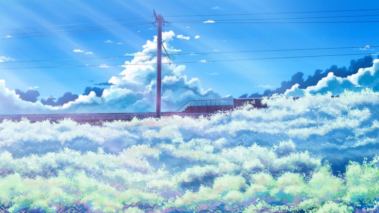 Konachan com - 236676 clouds grass hati 98 nobody original scenic sky wallpaper