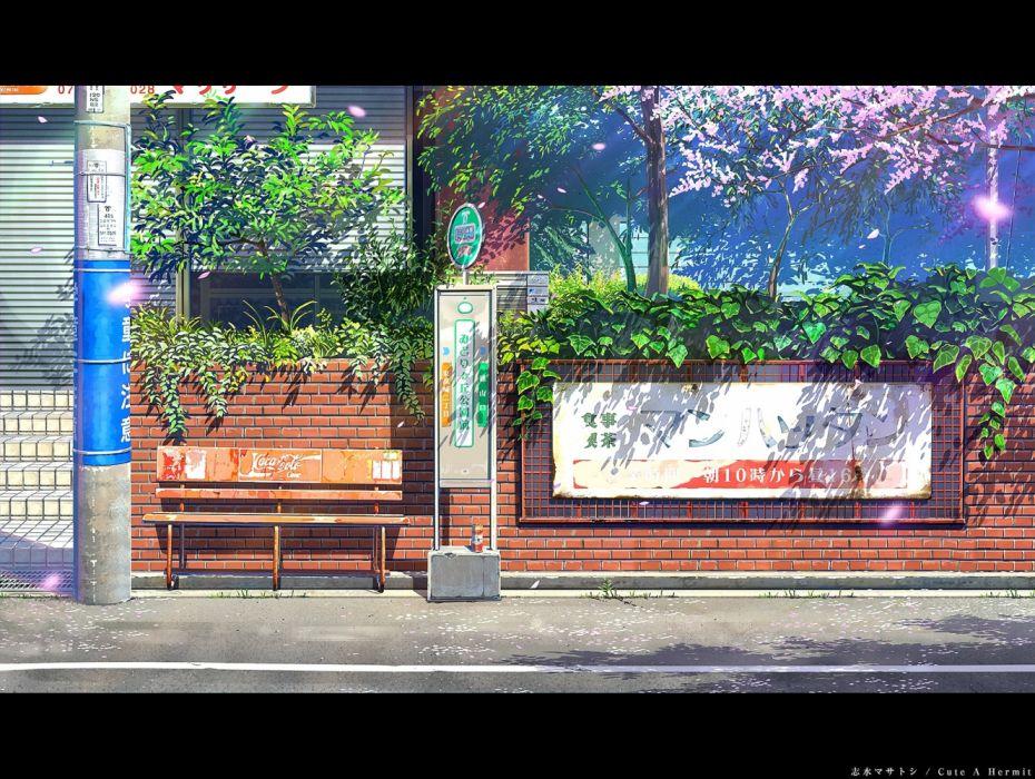 Konachan com - 236715 coca cola cuteahermit leaves nobody original scenic tree wallpaper