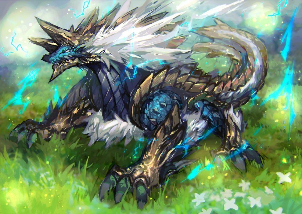 Konachan com - 236998 jinouga mamuru monster hunter wallpaper