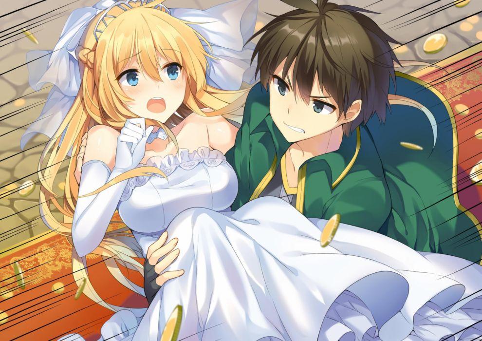 Konachan com - 236209 darkness (konosuba) kono subarashii sekai ni shukufuku wo! male mishima kurone satou kazuma wedding attire wallpaper
