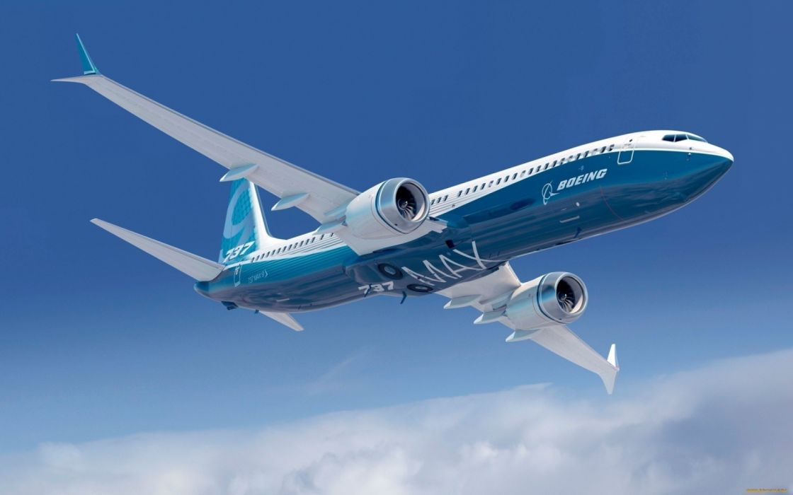 avion boeing 737 max wallpaper