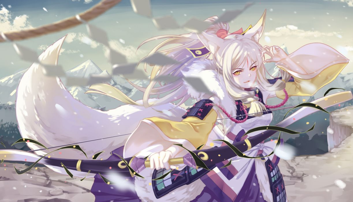 anime girls military sky objects wallpaper