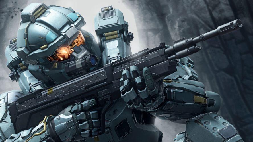 HALO action armor fighting fps futuristic sci-fi shooter warrior technics wallpaper