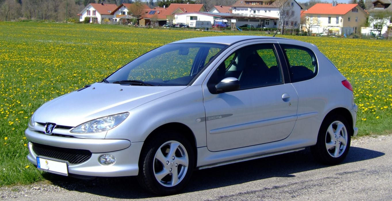 peugeot 206 coche fraances wallpaper