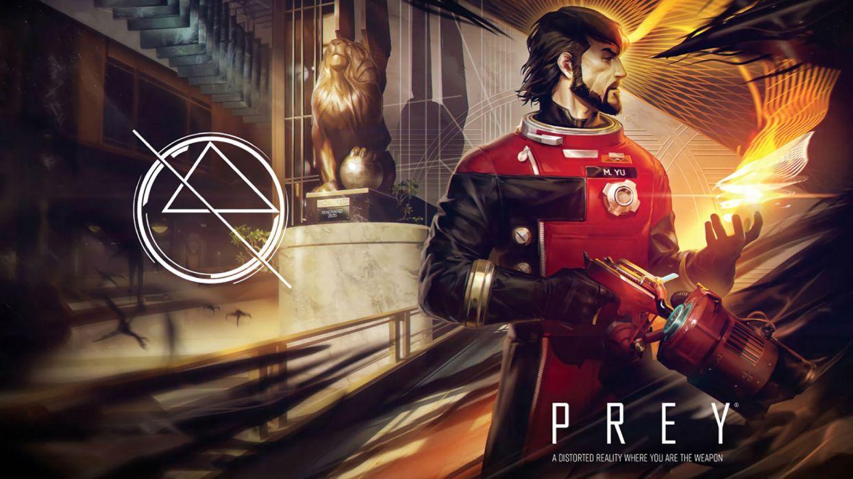 PREY sci-fi futuristic mmo online shooter fps action warrior fantasy wallpaper