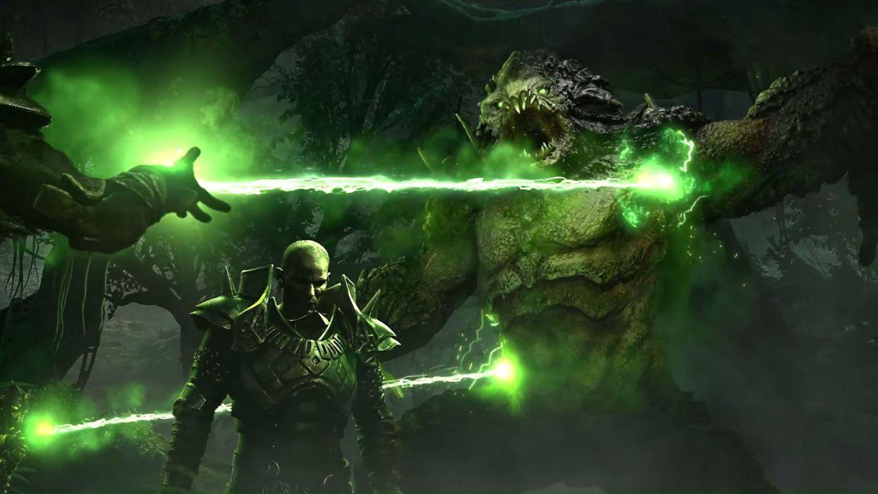 ELEX action fantasy fighting rpg strategy warrior sci-fi futuristic mmo wallpaper